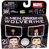 Marvel Minimates Exclusive X-Men Origins Wolverine 2 Pack Origins Wolverine a...
