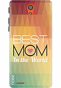 Noise Designer Printed Case / Cover for InFocus M260 / Quotes/Messages / Best Mom Design