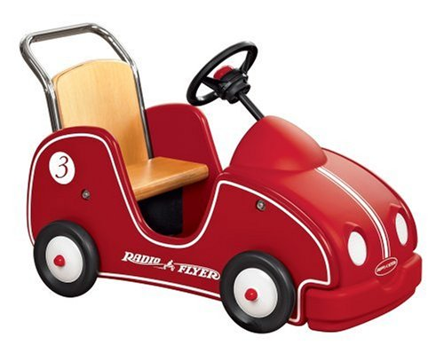 Buy Radio Flyer Little Wooden Car