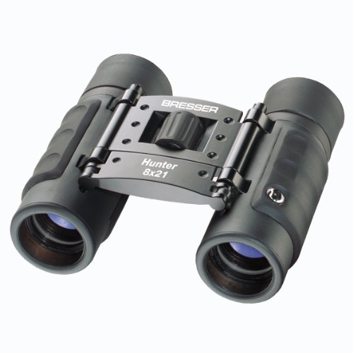 Bresser Hunter 1110821 8 X 21 Binocular (Black)