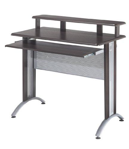Buy Low Price Comfortable OSP Designs Fusion Computer Desk in Espresso Finish (B004LQ1U5S)