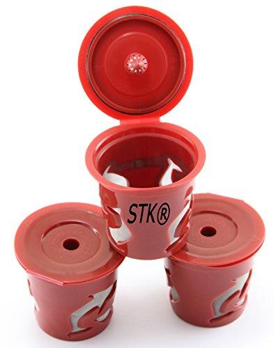 stk keurig reusable k cup 3 count for keurig classic brewers k55 k145 k40 k155 k150 - Keurig K Cup