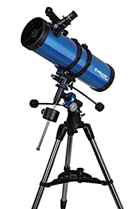 Meade 216004 Meade Polaris 114-Millimeter German Equatorial Reflector (Blue)