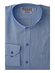 Arihant Men's Regular Fit 100% Cotton Striped Shirt (AR71670638)