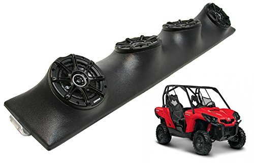 Honda-Pioneer-UTV-Kicker-Package-DSC5-Car-Audio-Powered-Speakers-Loaded-Pod-Box