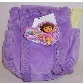 Dora l'Exploratrice : Sac à Dos peluche avec Carte