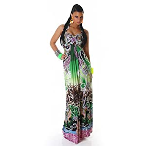 X long full length purple black green maxi multi colour holiday Elegant Evening Cocktail Dress Size 8, 10 maxi party or wedding gown floor length prom debs, spring summer