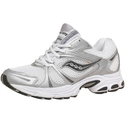 Saucony Mens Twister Running Shoes Whitesilverblack