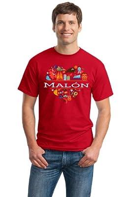 I Love Malon, Spain | Espana Unisex T-shirt-Medium