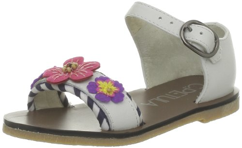 C. Petula Girls' Puce Fashion Sandals