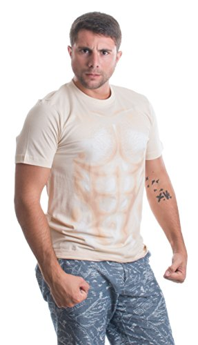 Muscle Man | Funny Halloween Costume Sexy Shirtless Man Costume Unisex T-shirt