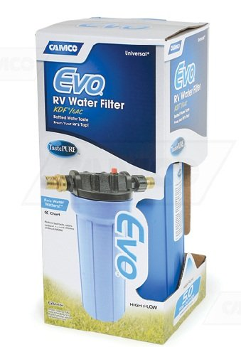 Camco 40631 Evo RV Water Filtration System