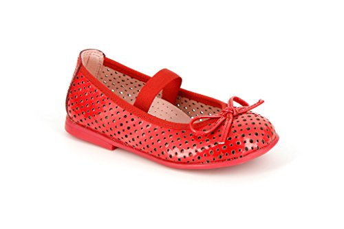 Pablosky Unisex, bambini 314269 Ballerine con lacci Rosso Size: 30