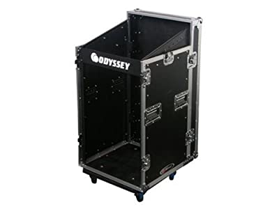 Odyssey FZSRP1116W Combo Rack Case W/ Wheels Large Rack Case