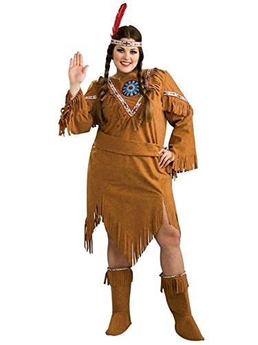 Halloween 2017 Disney Costumes Plus Size & Standard Women's Costume Characters - Women's Costume CharactersNative American Pocahontas Plus Size Costume