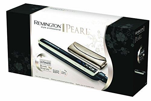 Remington Pearl - Plancha de pelo, hasta 235º C, placas de 110 mm, cerámica avanzada Ultimate
