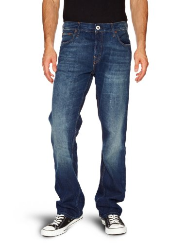 Firetrap Rom G2 Straight Men's Jeans 500 Wash