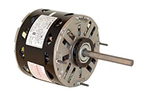 A.O. Smith/Century DL1056 1/2 HP, 1075 RPM, 3 Speed, 115 Volts6.5 Amps, 48 Frame, Sleeve Bearing Direct Drive Blower Motor from Century Electric/AO Smith Motors Co