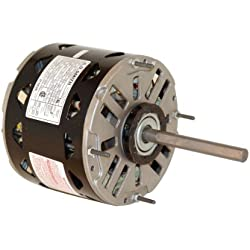 Century DL 1076 Furnace Blower Motor, HP: 3/4 RPM: 1075/3 SPD Volts: 115 AMPS: 9.5