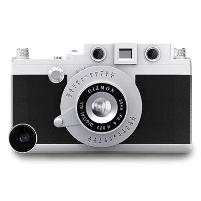 GIZMON Softbank au iPhone5用 カメラ型 ケース カバー GIZMON iCA5 ブラック 15003