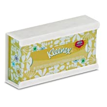 "TrippNT 50895 High-impact Polystyrene (HIPS) Wall-Mountable Kleenex Box Holder with Tape for 100 Count Box, 10"" Width x 5"" Height x 3"" Depth, Small"