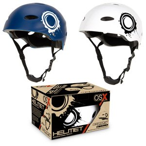Osprey OSX Skate & cycling helmet - white small 53-54cm
