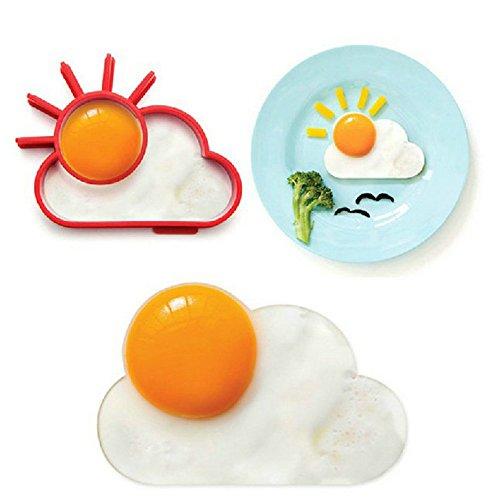 朝食創造シリコーン かわいい太陽クラ ウド卵型目玉焼き金型パンケーキ金型キッズ diy クッキング ツール世界中へ お店