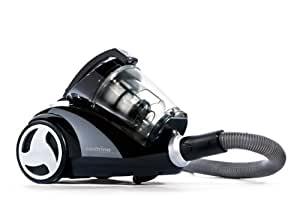 Dirt Devil M2881-9 Staubsauger Centrino Clean Control / beutellos / 2000 Watt / 0,8 l / inklusiv Parkettbürste / schwarz