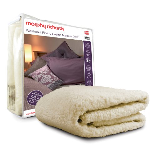 Morphy Richards 75269 Luxury Fitted 3 Heat Underblanket with Full Skirt Super King Zize