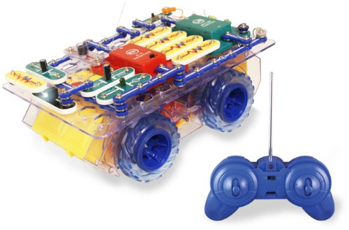 Snap Circuits R/C Snap Rover Electronics Discovery Kit - 1
