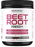 Beet Root Powder with Patented, Organic PeakO2 & Mushroom Blend - Supports Fast Workout Recovery & Promotes Athletic Endurance; No Sugar, Non-GMO