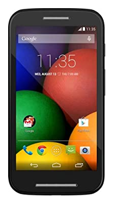 Motorola Moto E - Global GSM - Unlocked - 4GB (Black)