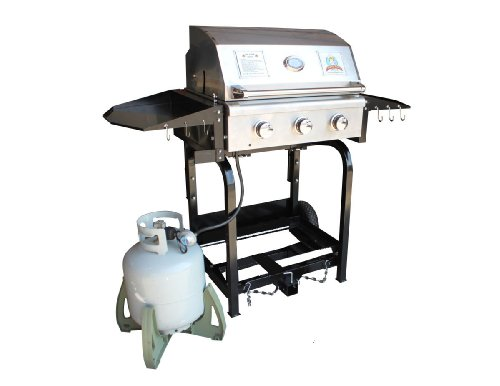 Party King Grills PKG-MVP-7612 Grill Combo, Includes MVP Grill, MVP Cradle and Tailgate Transport (Tailgate Grill Hitch compare prices)
