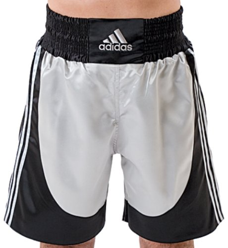 Adidas Boxing Shorts - Silver/Black - Medium