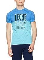 Leone 1947 Camiseta Manga Corta Lsm939/S16 (ROYAL BLUE-TURQUOISE)