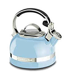 KitchenAid KTEN20SBEU 1.9-Litre Kettle with Handle and Trim Band (Cameo Blue)