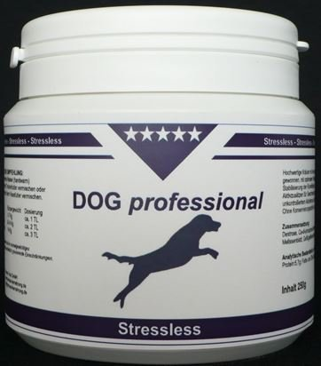 Bild von: DOG professional Stressless - Naturprodukt mit Heilkräutern und Bierhefe (Pulver) - 250 Gramm - GRATIS VERSAND