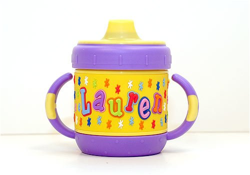 Personalized Sippy Cup: Lauren front-284431