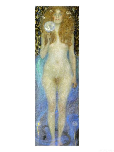 Nuda Veritas, Nude Veritas, 1899 Giclee Print Art (12 x 16 in)