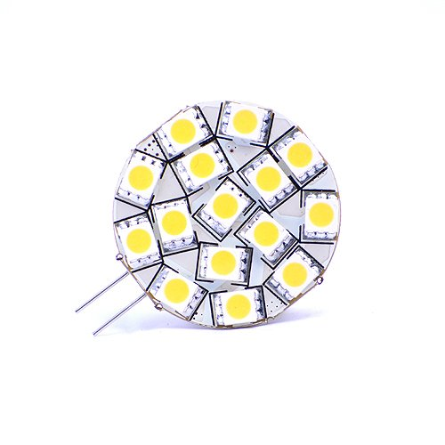 Disc Type G4 Base Side Pin 15 SMD LED, 10 Watt