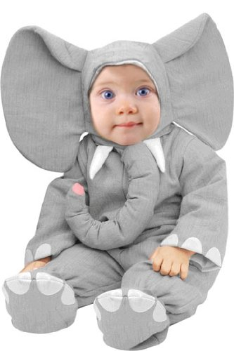 Unique Child's Infant Baby Elephant Halloween Costume (6-12 Months)