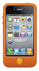 SwitchEasy Colors Silicone Case for iPhone 4 & 4S - Saffron