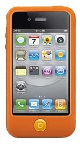 SwitchEasy Colors Silicone Case for iPhone 4 & 4S - Saffron