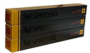 Nespresso Capsules - Volluto Decaffeinato - 30 Capsules, 3 Sleeves - New Decaf variety