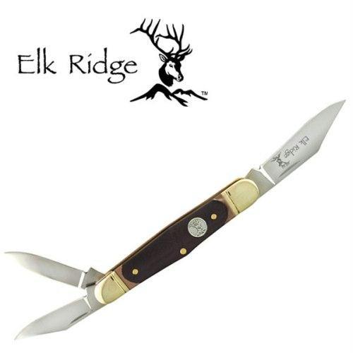 Elk Ridge Er-313Dr Gentleman'S Knife 3.5-Inch Closed