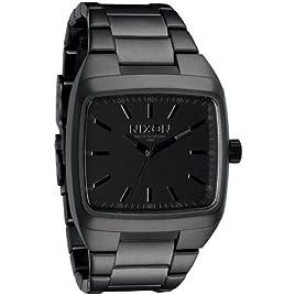 Nixon Manual II Watch - Men's Matte Black/Matte Gunmetal, One Size [Eyewear]