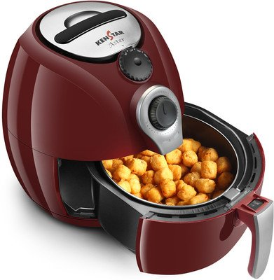 Kenstar Aster 1500-Watt Oxy Fryer (Cherry Red)