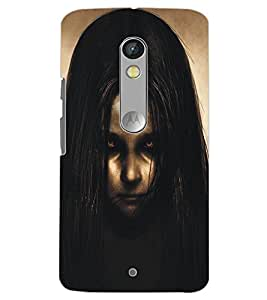 MOTOROLA MOTO X PLAY GHOST Back Cover by PRINTSWAG