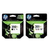 HP 350XL Black & HP 351XL Colour Ink Cartridges