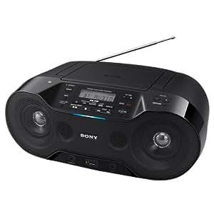 ソニー Bluetooth対応CDラジオ(ブラック)SONY ZS-RS70BT